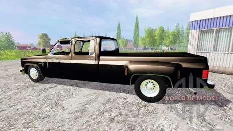 Chevrolet Silverado 3500 1984 for Farming Simulator 2015