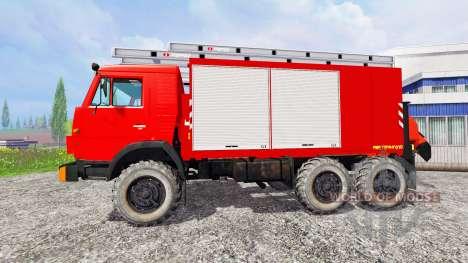 KamAZ-43114 [fire protection] for Farming Simulator 2015