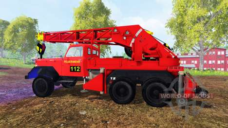 Magirus-Deutz 200D26A [firemen truck crane] for Farming Simulator 2015