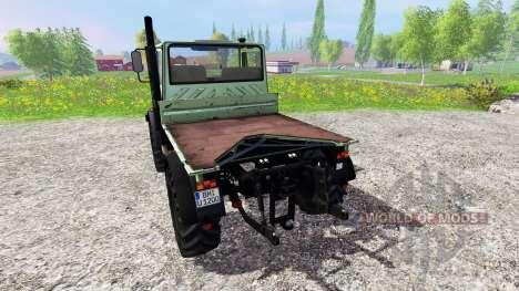Mercedes-Benz Unimog U1200 for Farming Simulator 2015