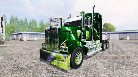Kenworth T908 [John Deere Service] for Farming Simulator 2015