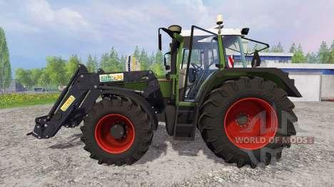 Fendt Favorit 515C Turbomatic [washable] for Farming Simulator 2015