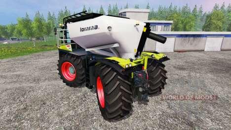 CLAAS Xerion 4000 SaddleTrac v1.6 for Farming Simulator 2015