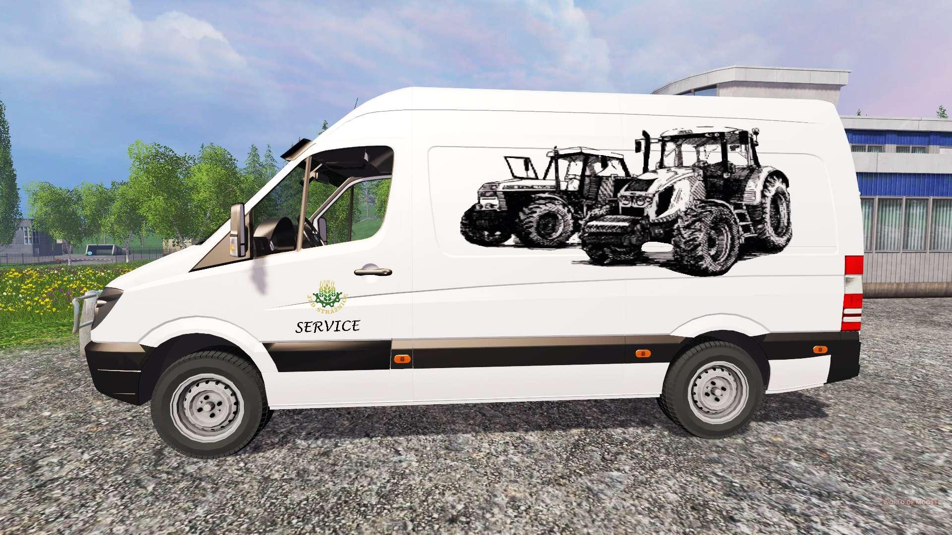 Mercedes benz sprinte service for farming simulator 2015 for Mercedes benz service f