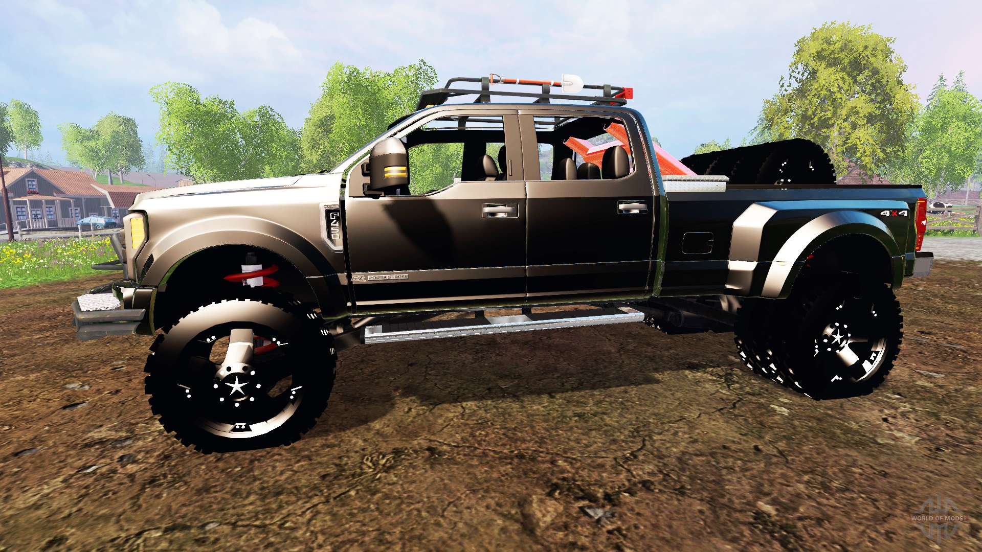 ford f 450 2017 custom for farming simulator 2015. Black Bedroom Furniture Sets. Home Design Ideas