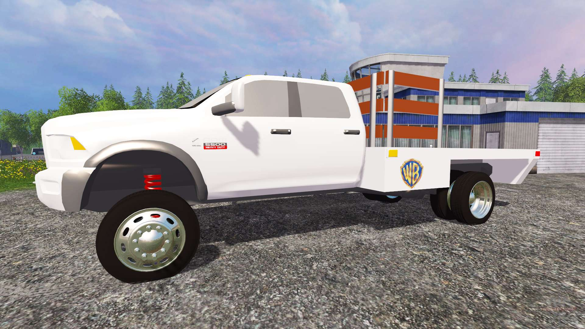 Dodge ram 5500 2015 stake truck for farming simulator 2015 for 5500 3