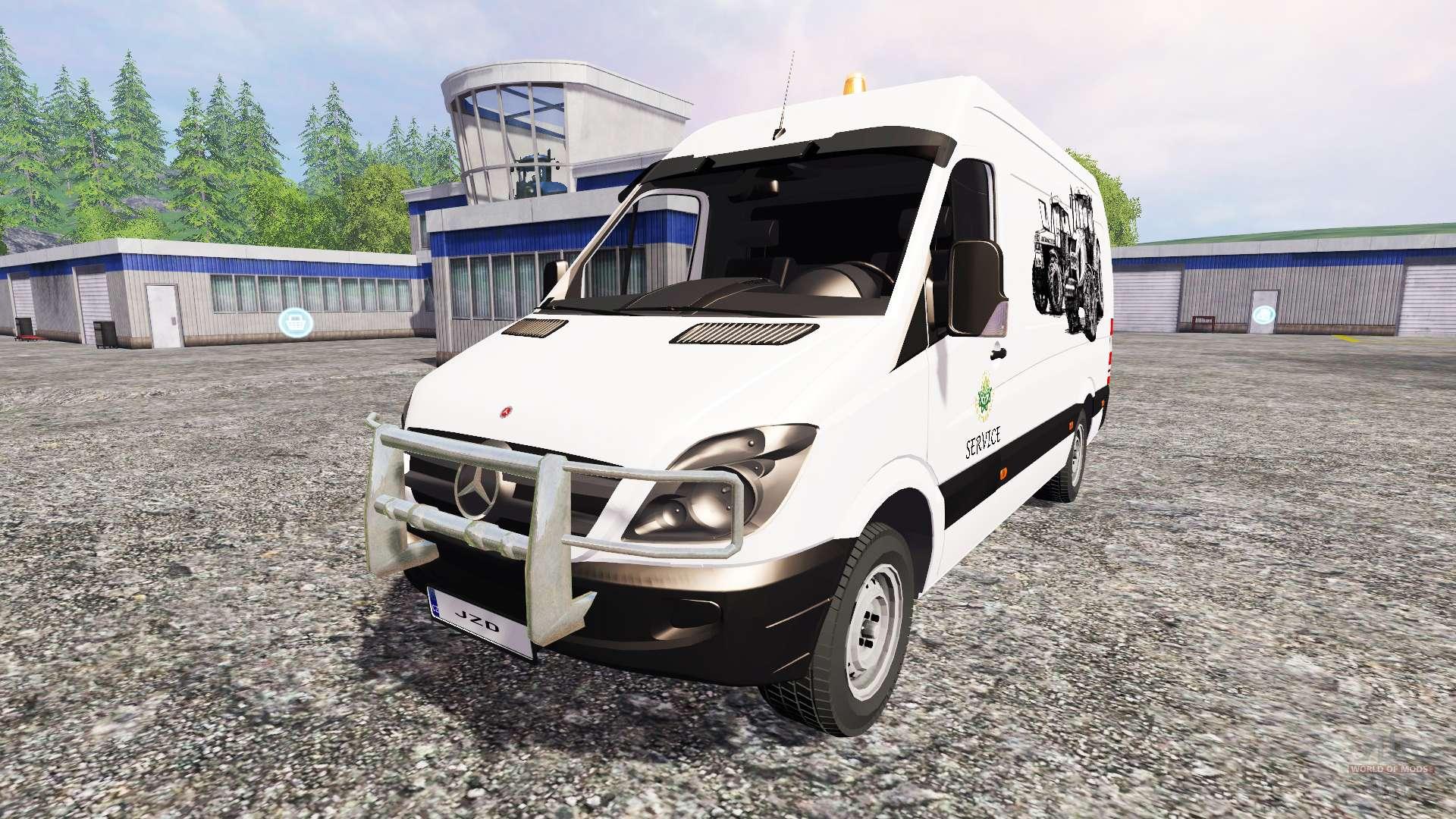 Mercedes benz sprinte service for farming simulator 2015 for Mercedes benz f service