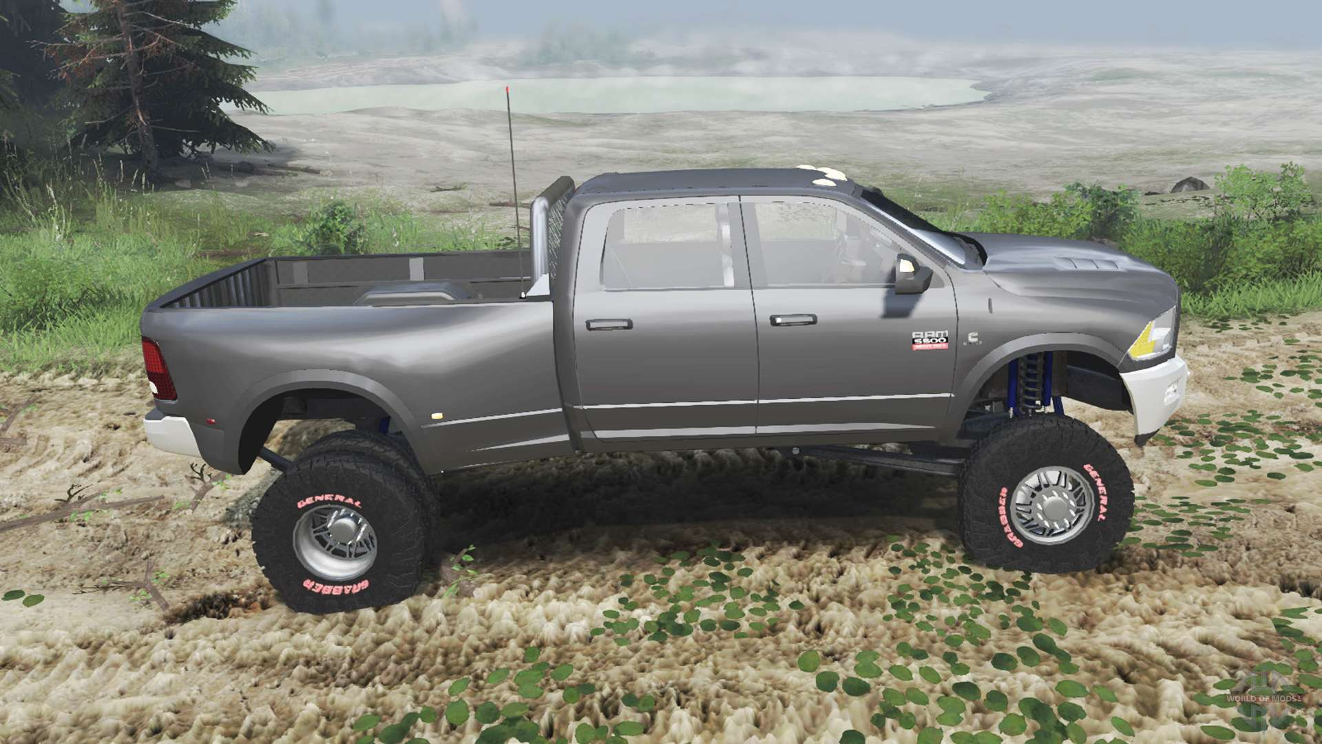 Dodge Ram 5500 >> Dodge Ram 5500 Dually 2012 03 03 16 For Spin Tires