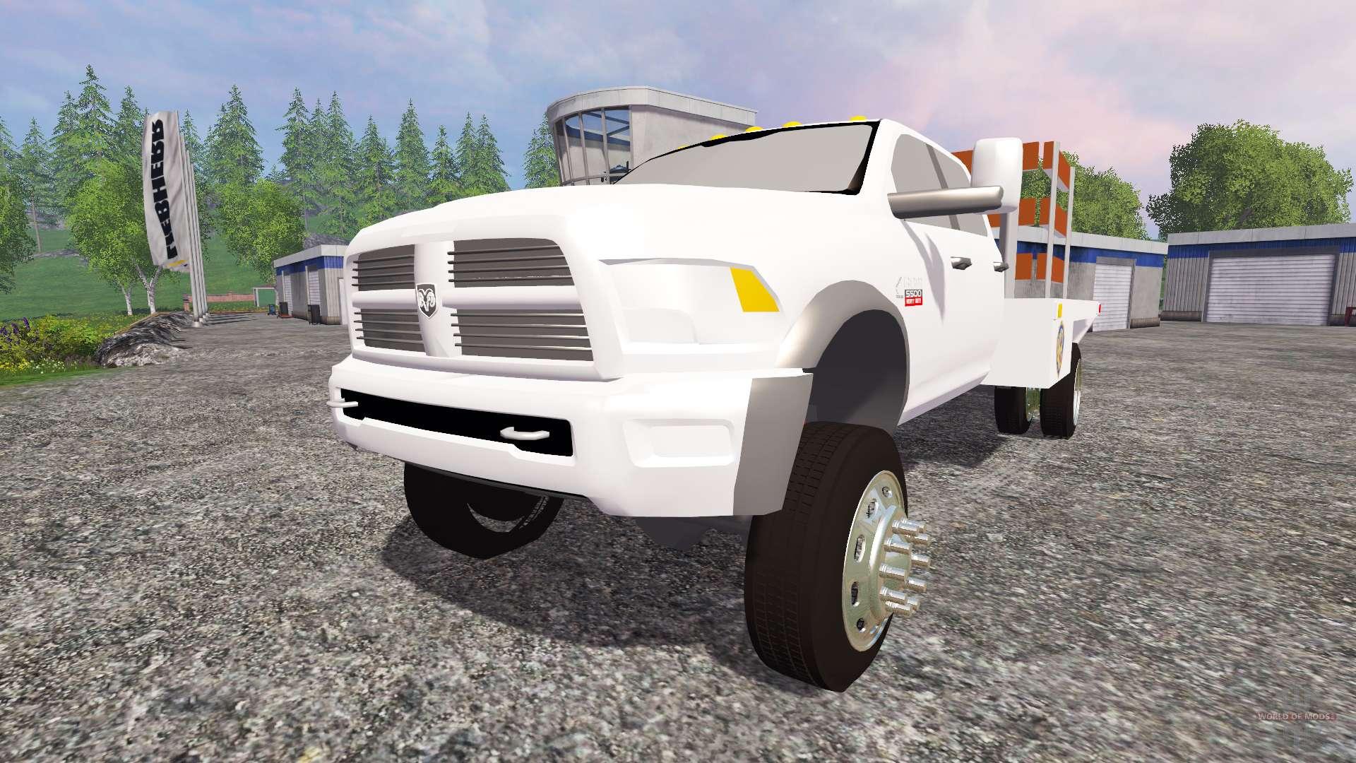 Dodge Ram 5500 2015 stake truck for Farming Simulator 2015