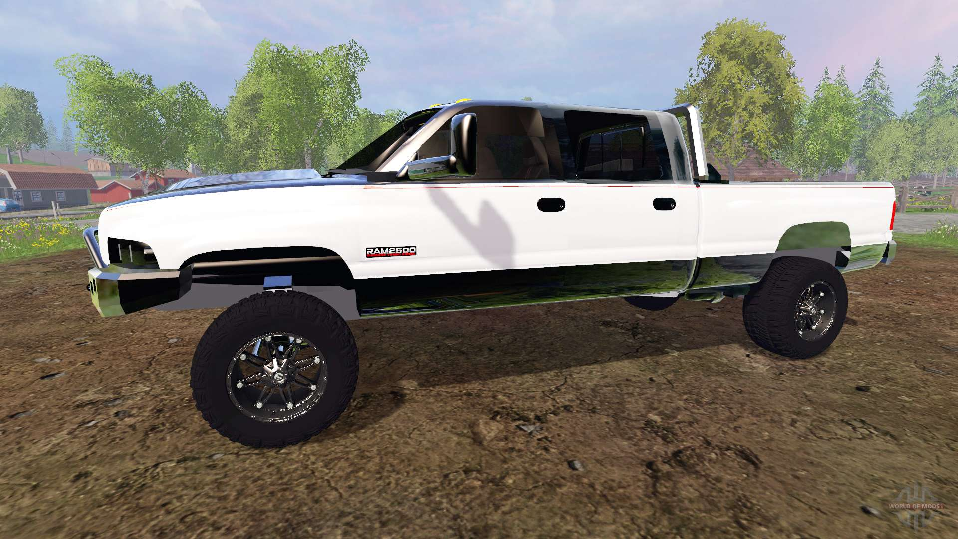 dodge ram 2500  holy grail  for farming simulator 2015