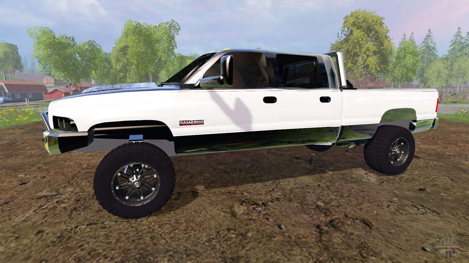 Dodge 700 Hp Truck >> Dodge Ram 2500 [holy grail] for Farming Simulator 2015
