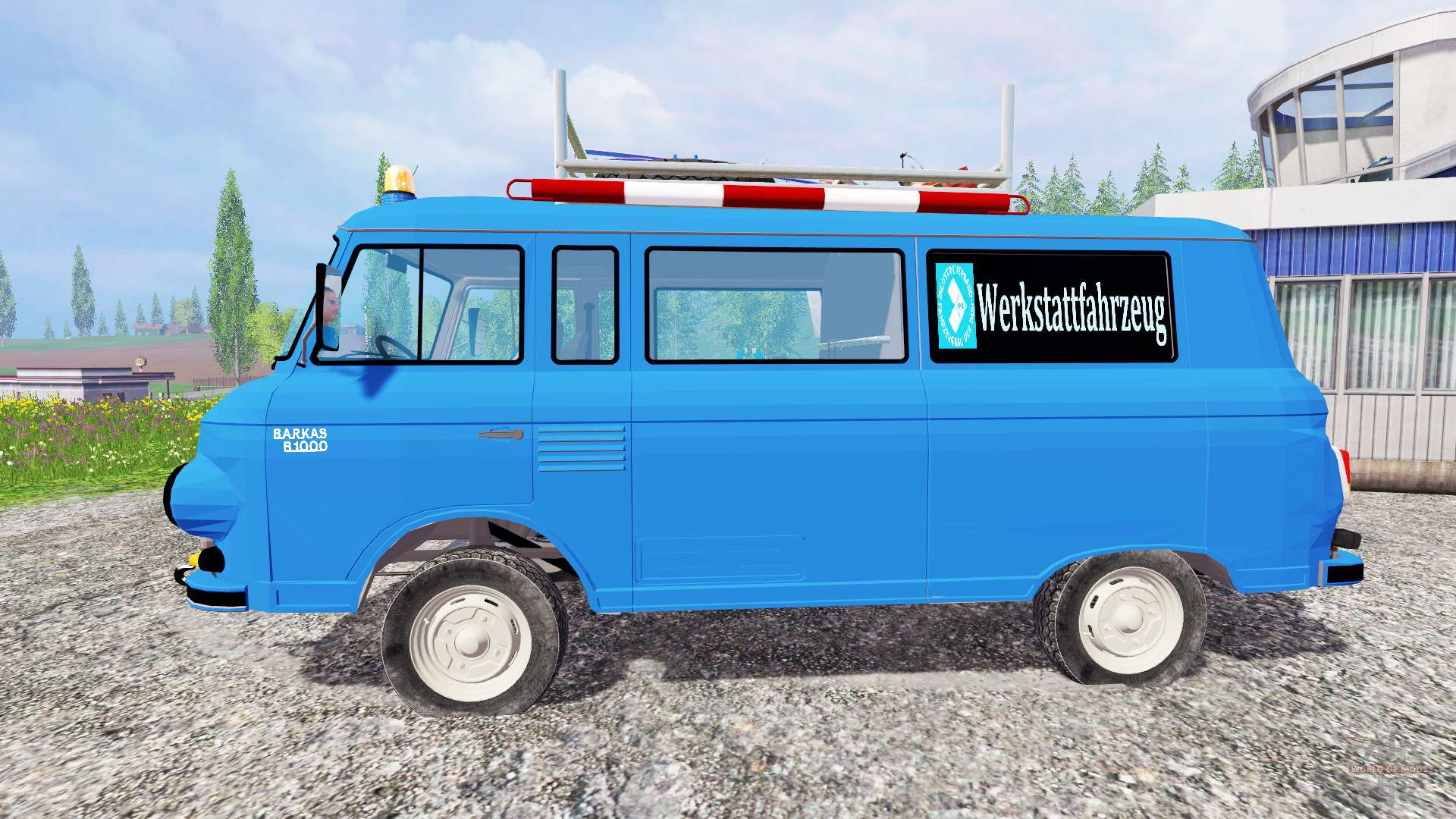 barkas b1000 werkstattwagen for farming simulator 2015. Black Bedroom Furniture Sets. Home Design Ideas