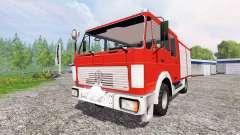Mercedes-Benz 1222 [feuerwehr] for Farming Simulator 2015