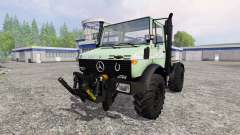 Mercedes-Benz Unimog U1200 for Farming Simulator 2015