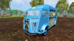 Citroen Type H v2.6 for Farming Simulator 2015