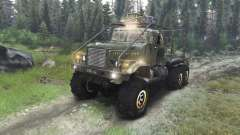 KrAZ-255 truck [03.03.16] for Spin Tires