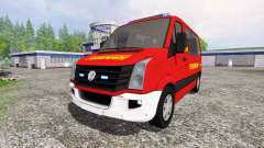 Volkswagen Crafter [feuerwehr] for Farming Simulator 2015