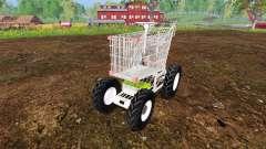 Manual grocery cart for Farming Simulator 2015