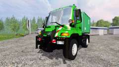 Mercedes-Benz Unimog U400 v1.3 for Farming Simulator 2015