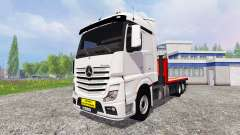 Mercedes-Benz Actros MP4 Convoi Exceptionel