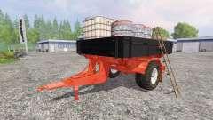 Uniaxial trailer service for Farming Simulator 2015