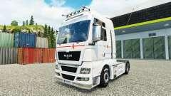 Skin Klaus Bosselmann on the truck MAN for Euro Truck Simulator 2