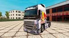 RedBull skin for Volvo truck for Euro Truck Simulator 2
