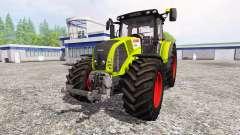 CLAAS Axion 850 v1.3 for Farming Simulator 2015