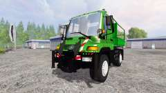Mercedes-Benz Unimog U400 for Farming Simulator 2015