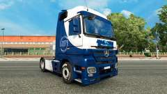 Skin Williams F1 Team on the tractor unit Mercedes-Benz for Euro Truck Simulator 2