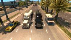More trucks in the traffic for American Truck Simulator