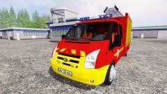 Ford Transit [sapeurs pompiers]