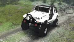 Jeep Wrangler Rubicon White [03.03.16] for Spin Tires