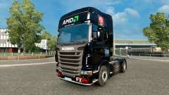 AMD FX skin for Scania truck for Euro Truck Simulator 2