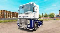 Carstensen skin for Renault Magnum tractor unit for Euro Truck Simulator 2