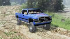 Dodge Ram Ext. Cab 1996 [03.03.16] for Spin Tires