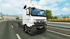 Skin Coppenrath & Wiese on the tractor unit Mercedes-Benz for Euro Truck Simulator 2