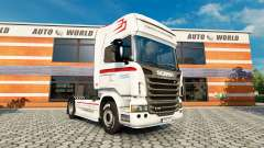 Skin Coppenrath & Wiese v1.1 on the tractor unit Scania for Euro Truck Simulator 2