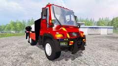 Mercedes-Benz Unimog U400 [sapeur pompier]