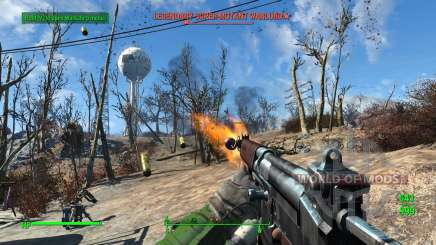 R91 assault rifle for Fallout 4