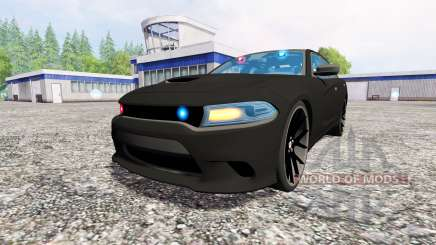 Dodge Carger Hellcat 2015 Undercover for Farming Simulator 2015