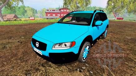 Volvo XC70 for Farming Simulator 2015