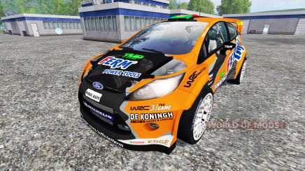 Ford Fiesta WRC for Farming Simulator 2015