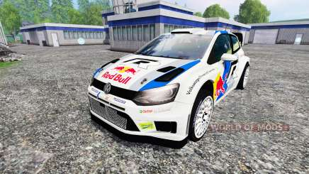 Volkswagen Polo WRC Red Bull for Farming Simulator 2015