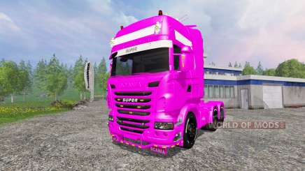 Scania R730 Topline v2.0 for Farming Simulator 2015