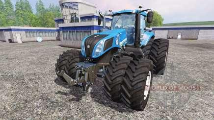 New Holland T8.435 v4.0.3 for Farming Simulator 2015