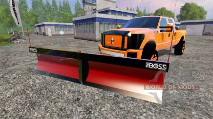 Ford F-250 [V-plow] for Farming Simulator 2015