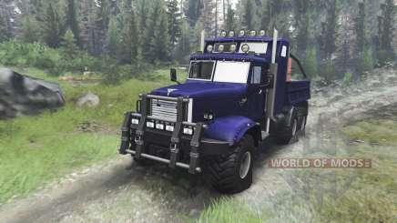 KrAZ-255 B1 Crocodile [03.03.16] for Spin Tires