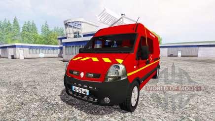 Renault Master [sapeurs-pompiers] v2.0 for Farming Simulator 2015