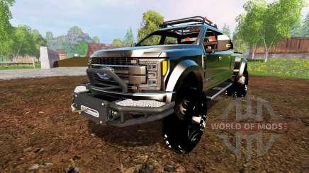 Ford F-450 2017 [custom] for Farming Simulator 2015
